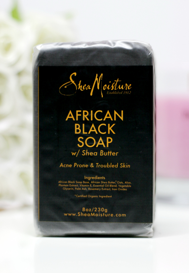 What is black soap used for