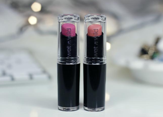 Wet n' wild lipsticks review