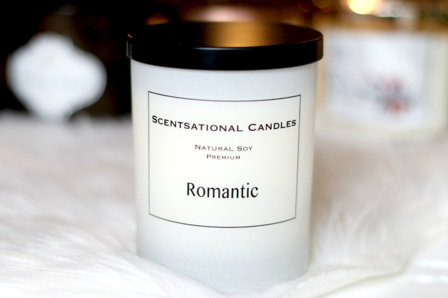 scentsational candle romantic