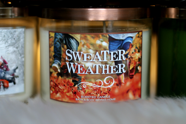 sweater weather candle bath and body works