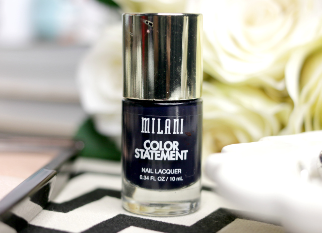 Milani Cosmetics Color Statement polish in Ink Spot