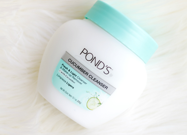 Pond's cucumber cleanser review