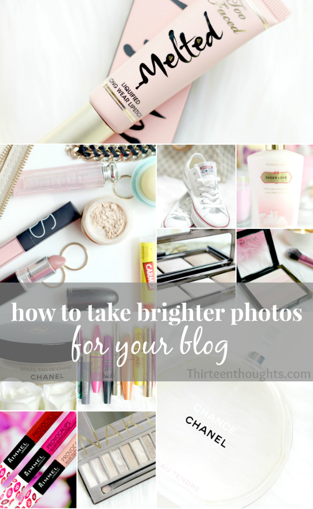 how to take pictures of products