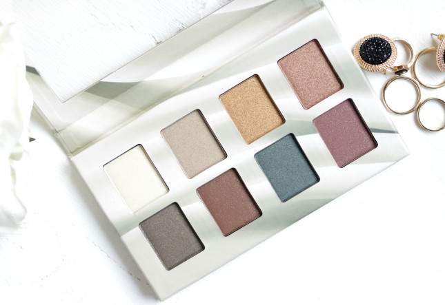 nyx suede collection palette