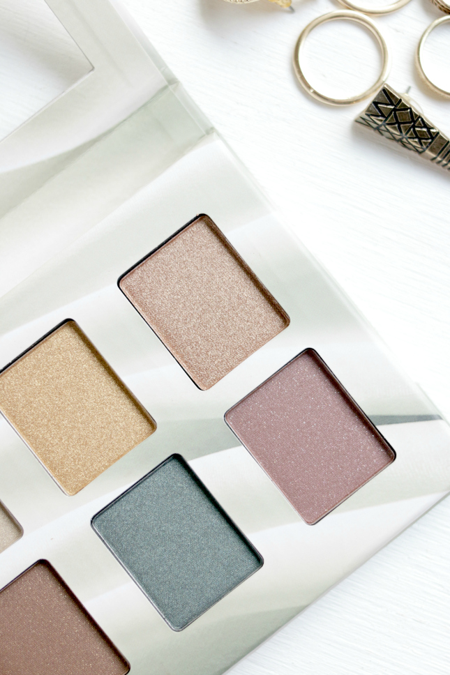 nyx suede palette review