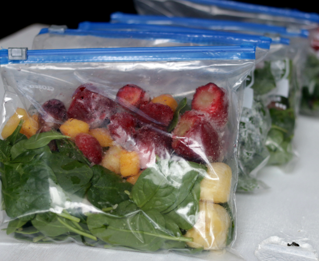prepacked smoothies