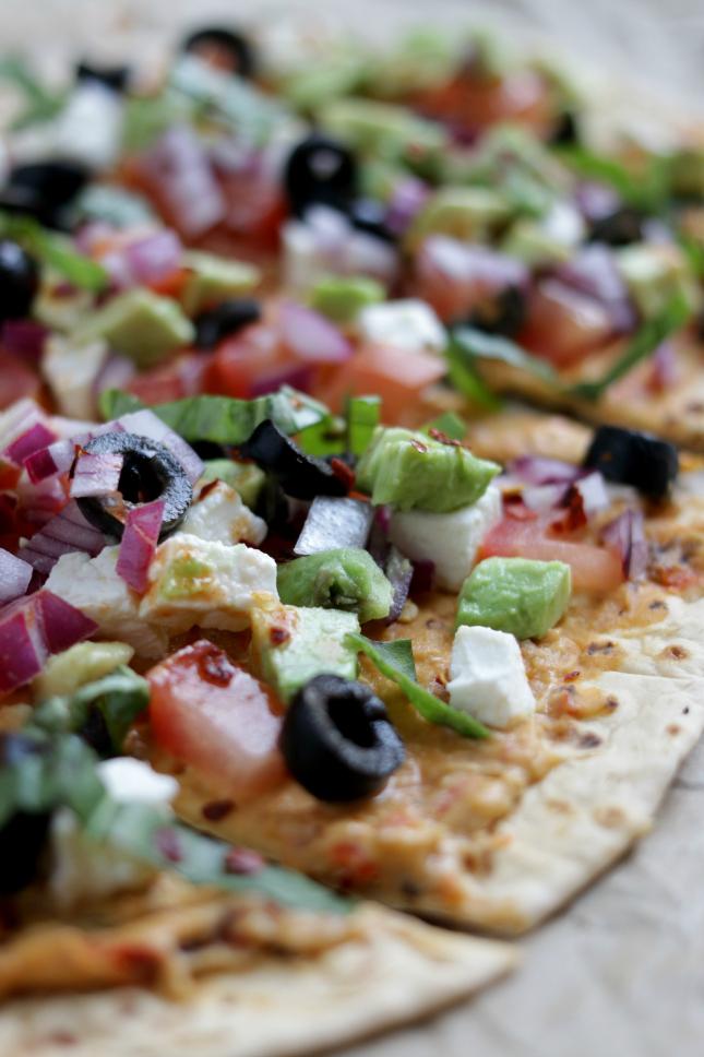 veggie pizza homemade