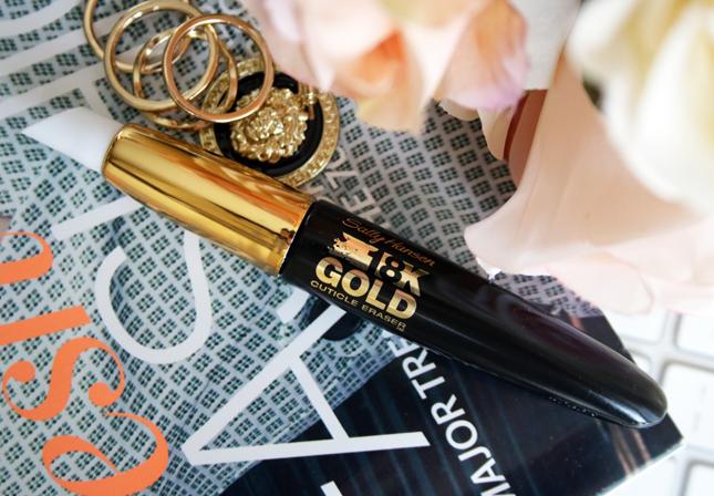 Sally Hansen 18k gold cuticle eraser