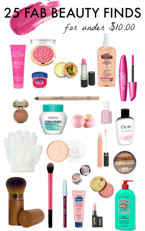 Beauty Finds for under 10 dollars
