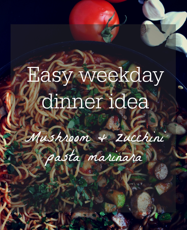 weekday dinner ideas