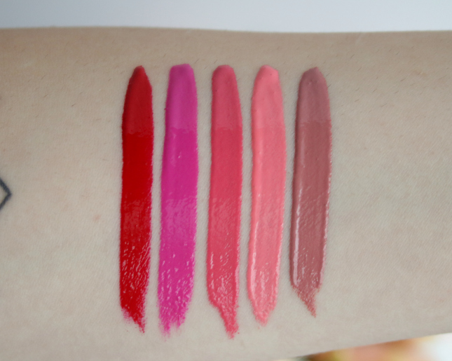 New NYX Intense Butter Glosses