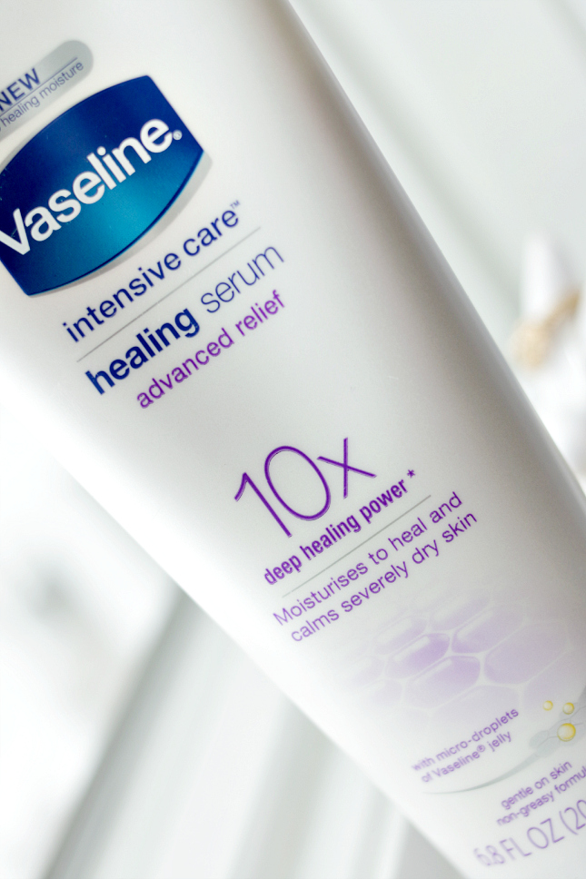 New Vaseline Advanced Relief Healing Serum Review