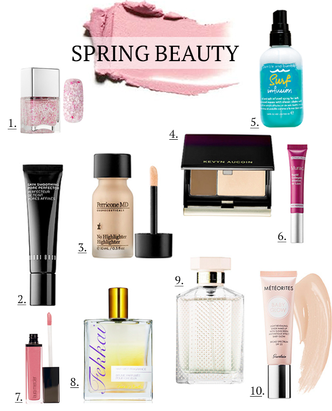 New beauty products Spring 2015