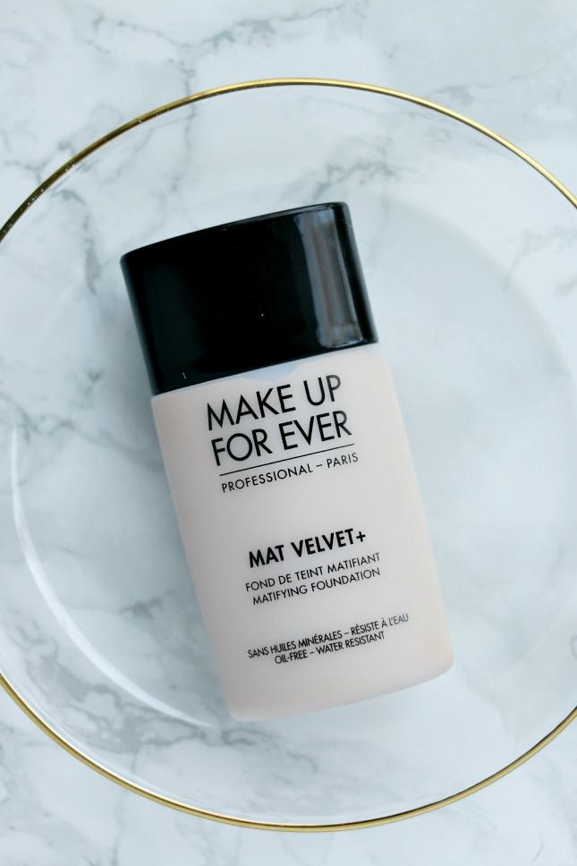 Makeup Forever Mat Velvet + foundation