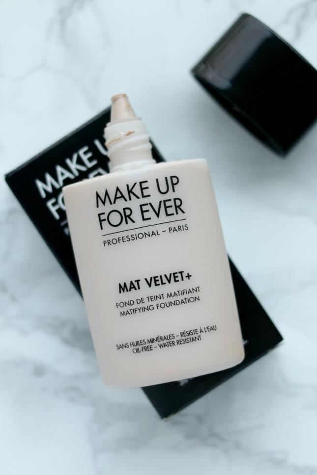 Makeup Forever Mat Velvet + review