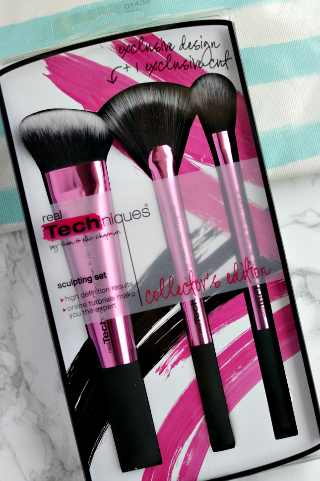 Real Techniques collector's edition sculpting set review