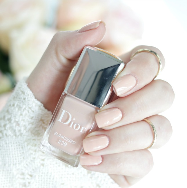 Dior sunkissed nail polish