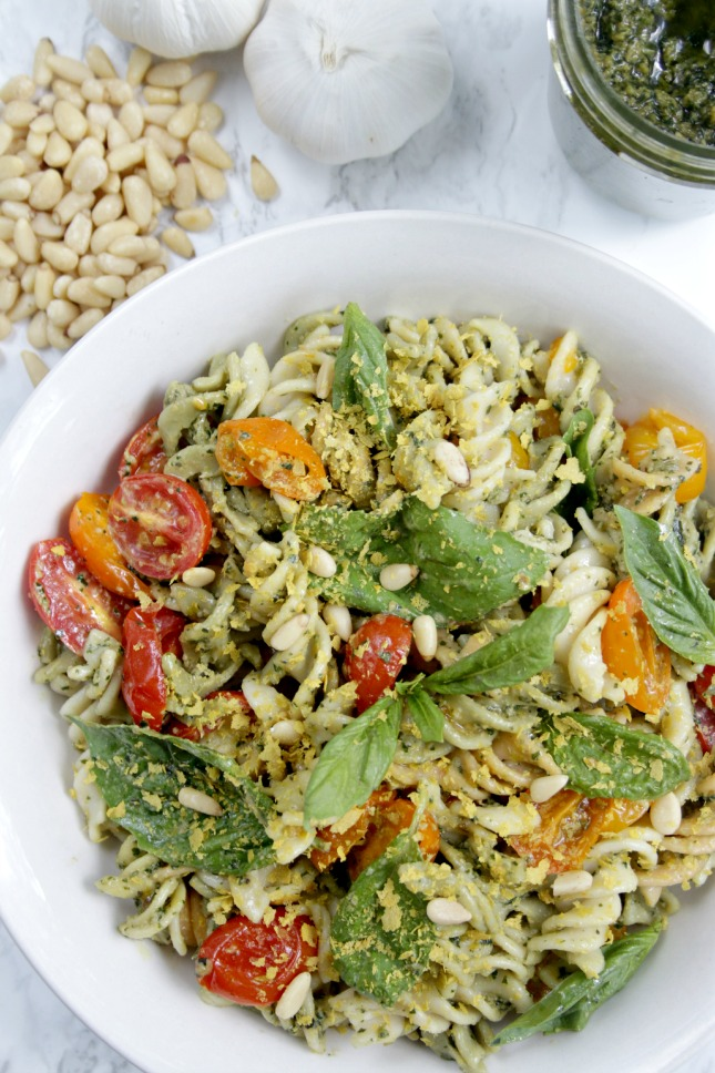 roasted tomato rice pasta