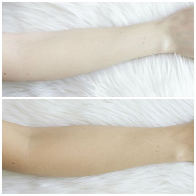 SVELTA tan before and after