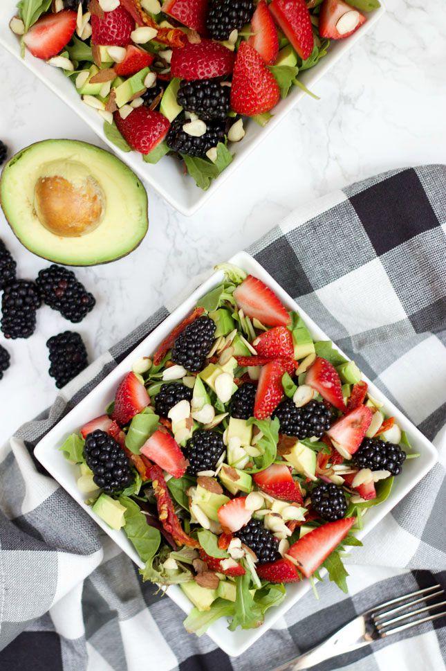 berry-avocado-salad