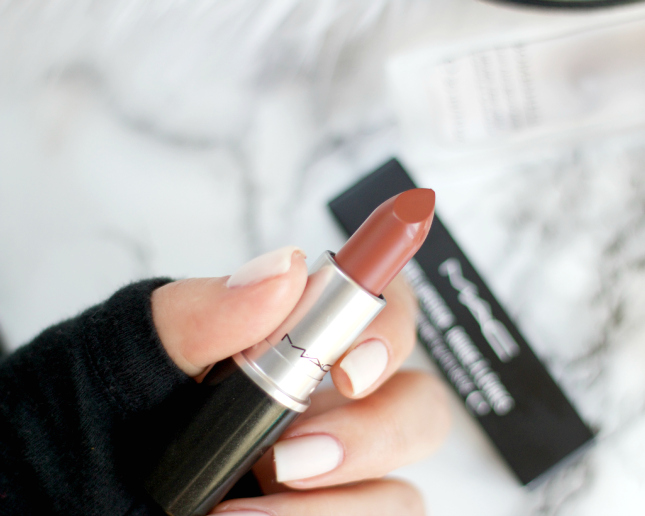 Mac Taupe Lipstick Thirteen Thoughts