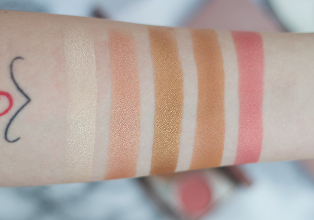 Becca-Afterglow-Palette-swatches-and-review