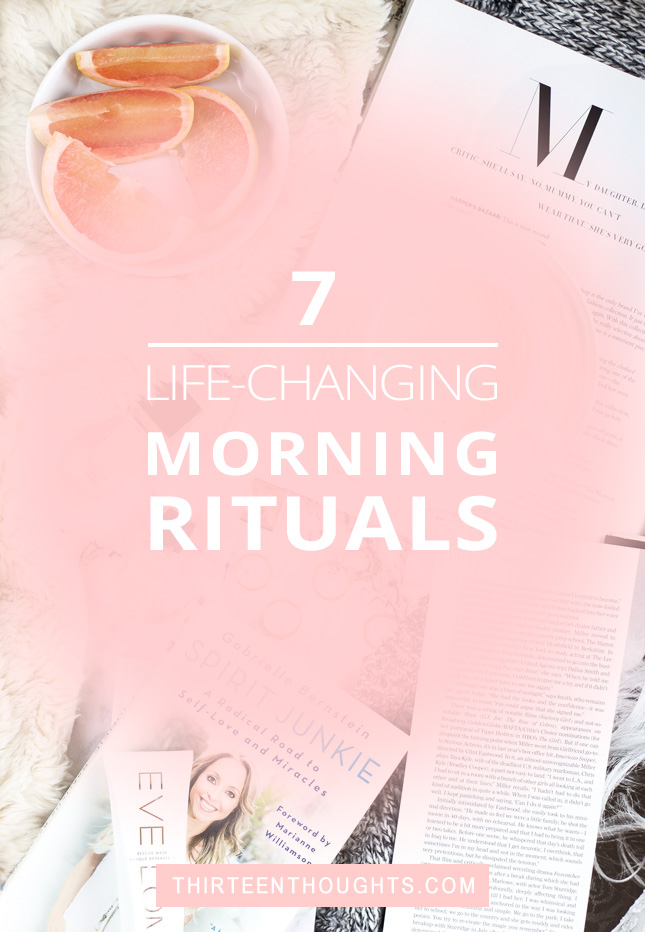 7 Life-Changing Morning Rituals Wellness Your morning routine sets the mood and tone for your entire day. Wouldn't it be wonderful, if you started each and every day on a positive note? How do you feel right after you open your eyes in the morning? Are you excited to start your day, or do you just want to roll over and go back to sleep?How you spend your mornings makes a big impact on your mood and stress levels.  morning routine   #selfcare   #routines   lifestyle   lifestyle blog   #morning rituals