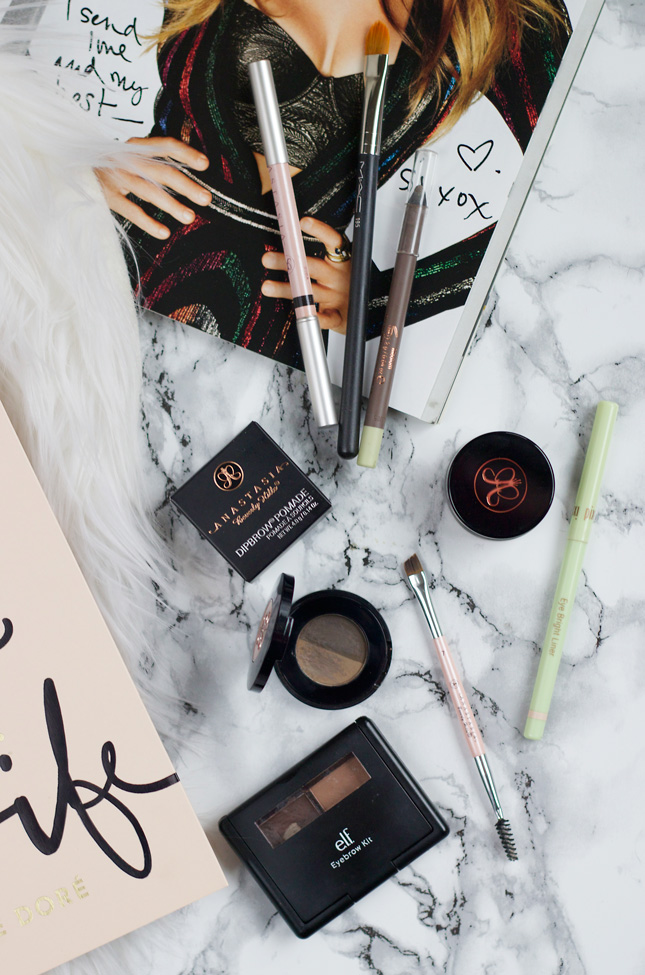my-favorite-brow-products