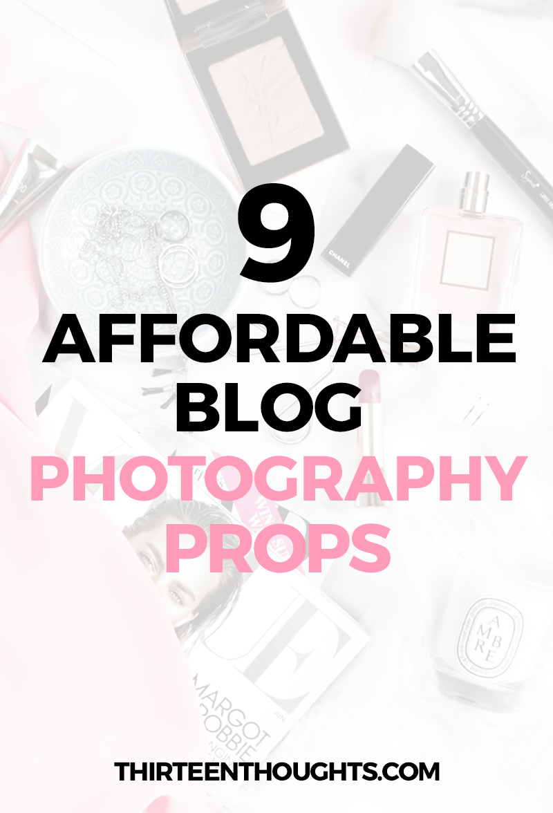 Blog Photo Styling: 9 Affordable Photography Props