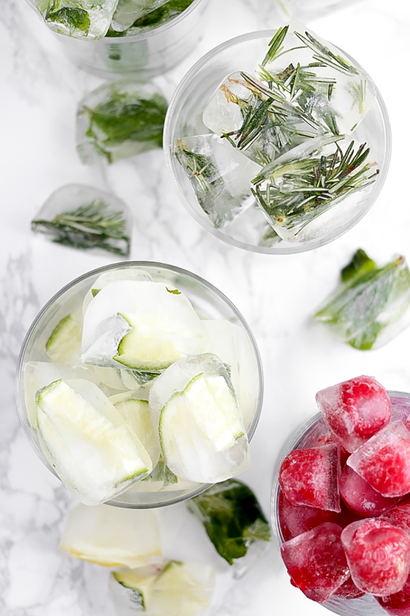 Infused Ice Cubes Recipe