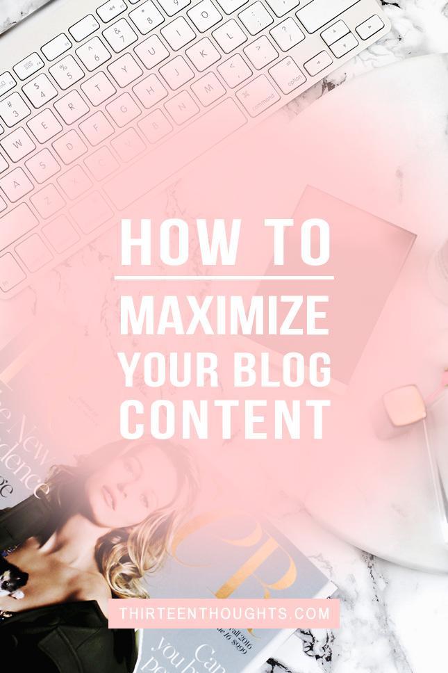 maximize-blog-content