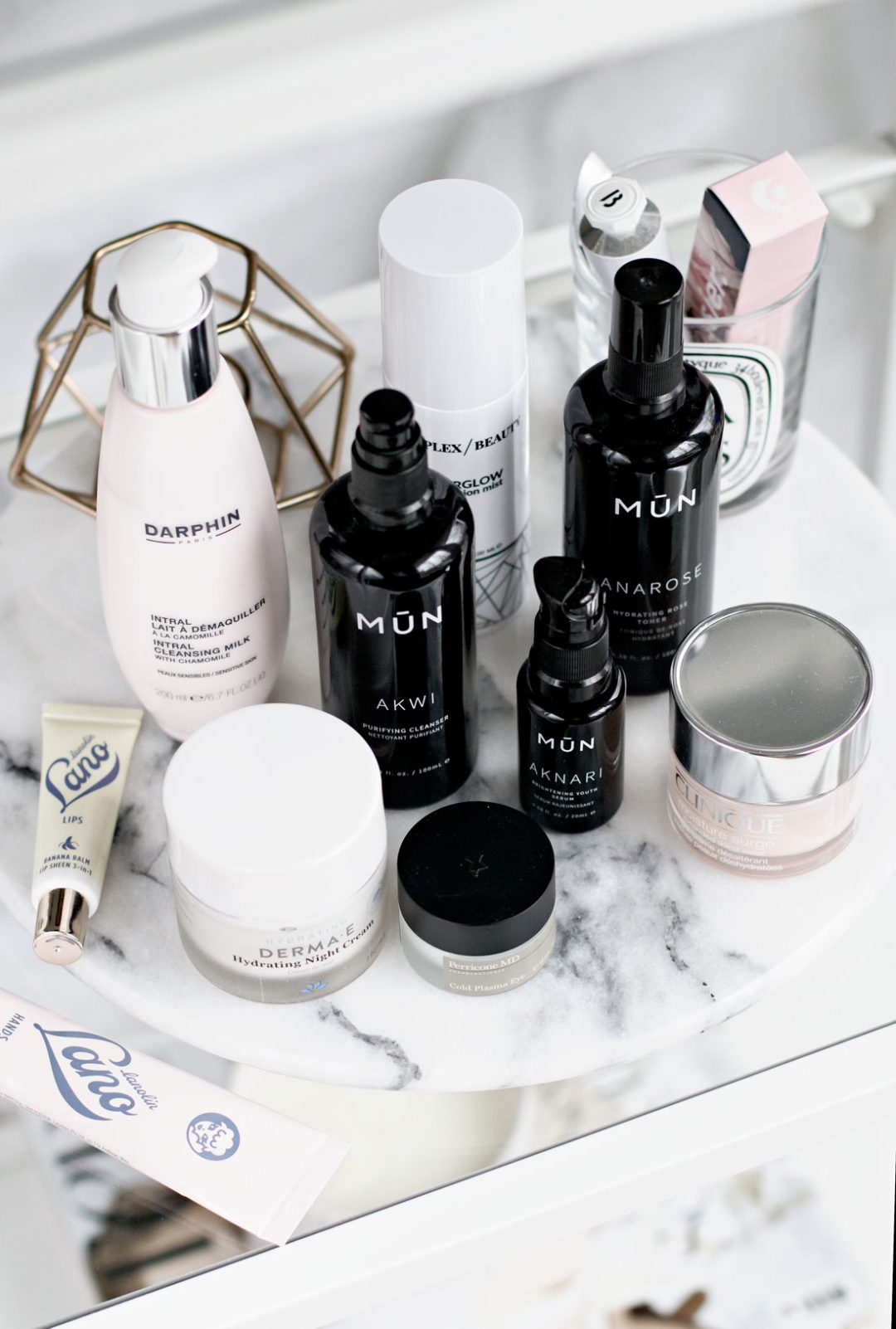 skincare routine on Accutane