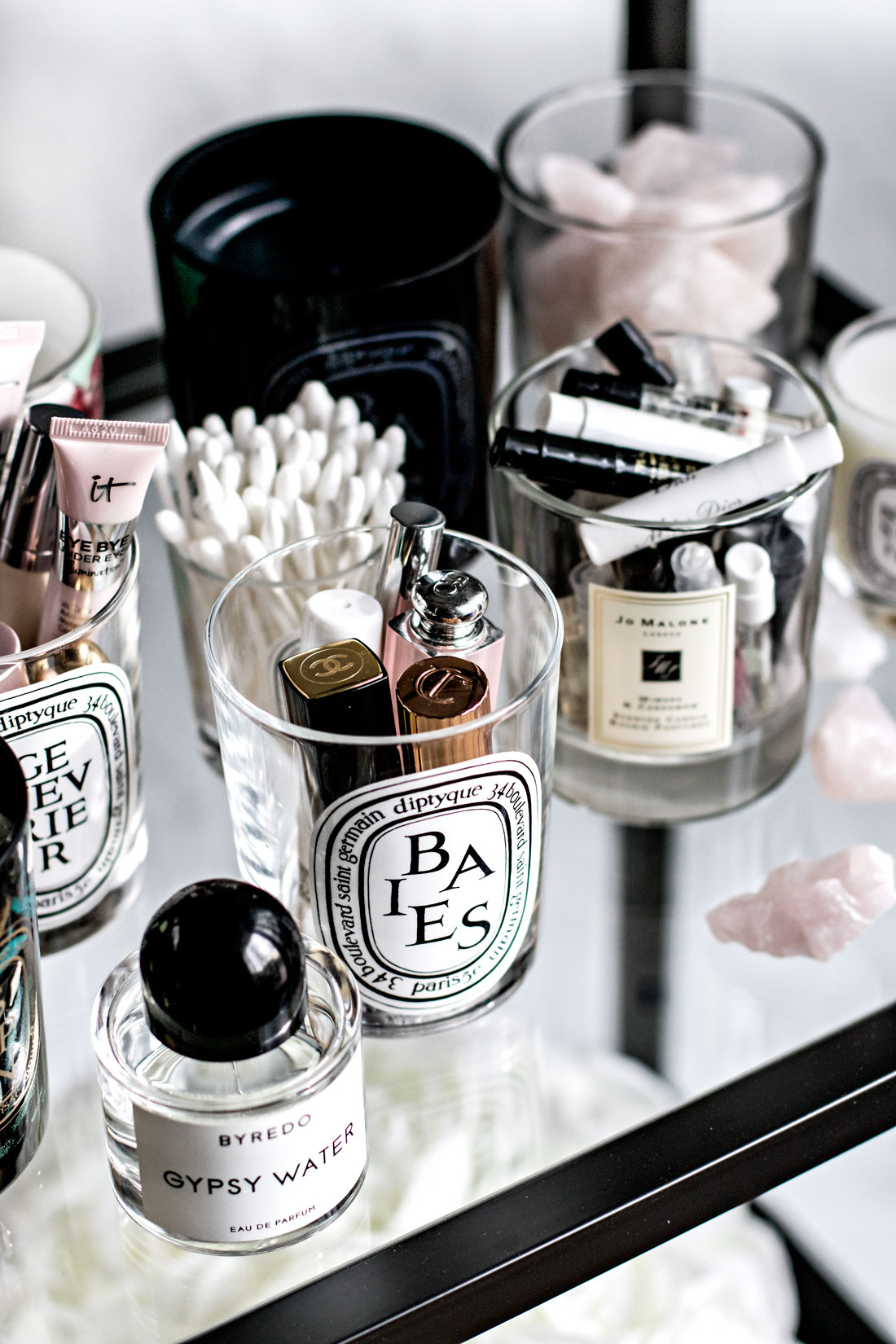 Tips for repurposing your candle jars + keeping them clean