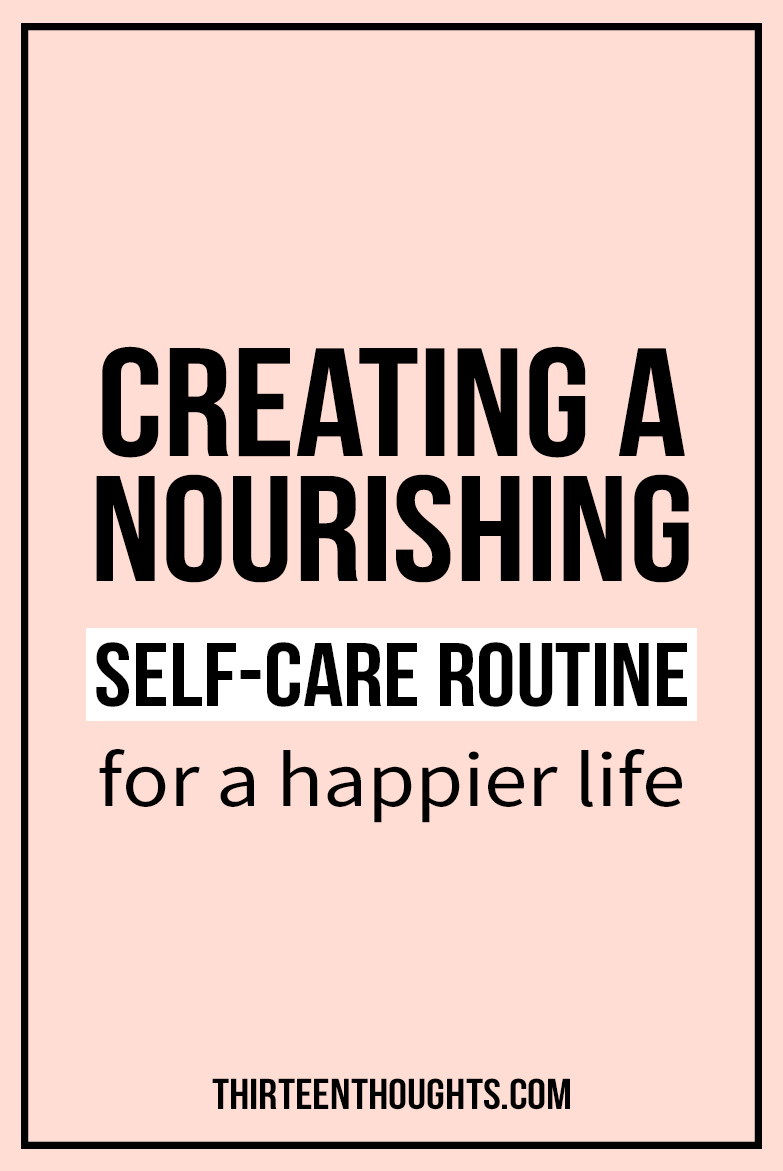 Taking care of yourself or