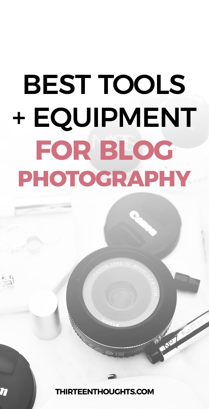Tools for blog photography