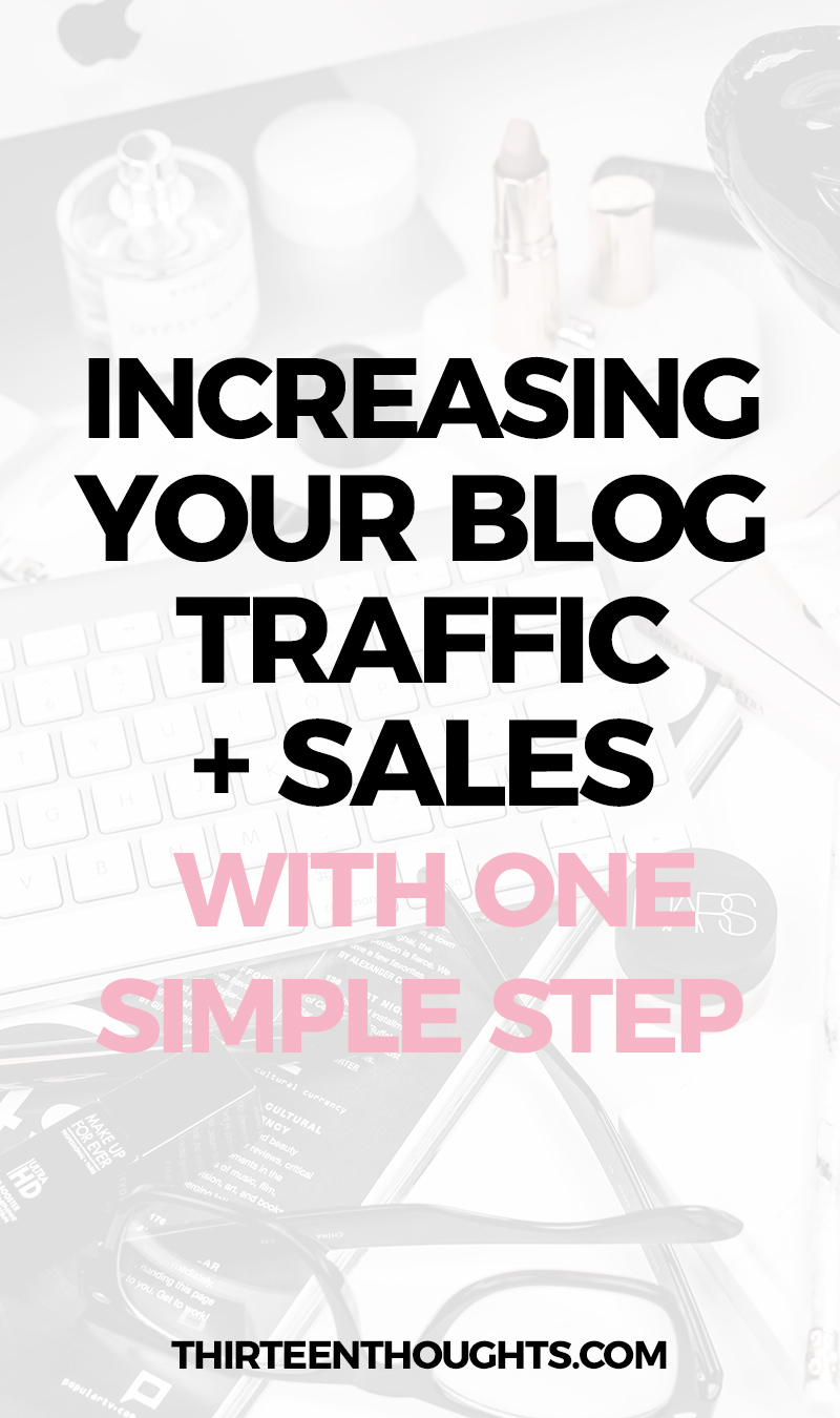WEB HOSTING: INCREASING YOUR BLOG TRAFFIC + SALES WITH 1 SIMPLE STEP