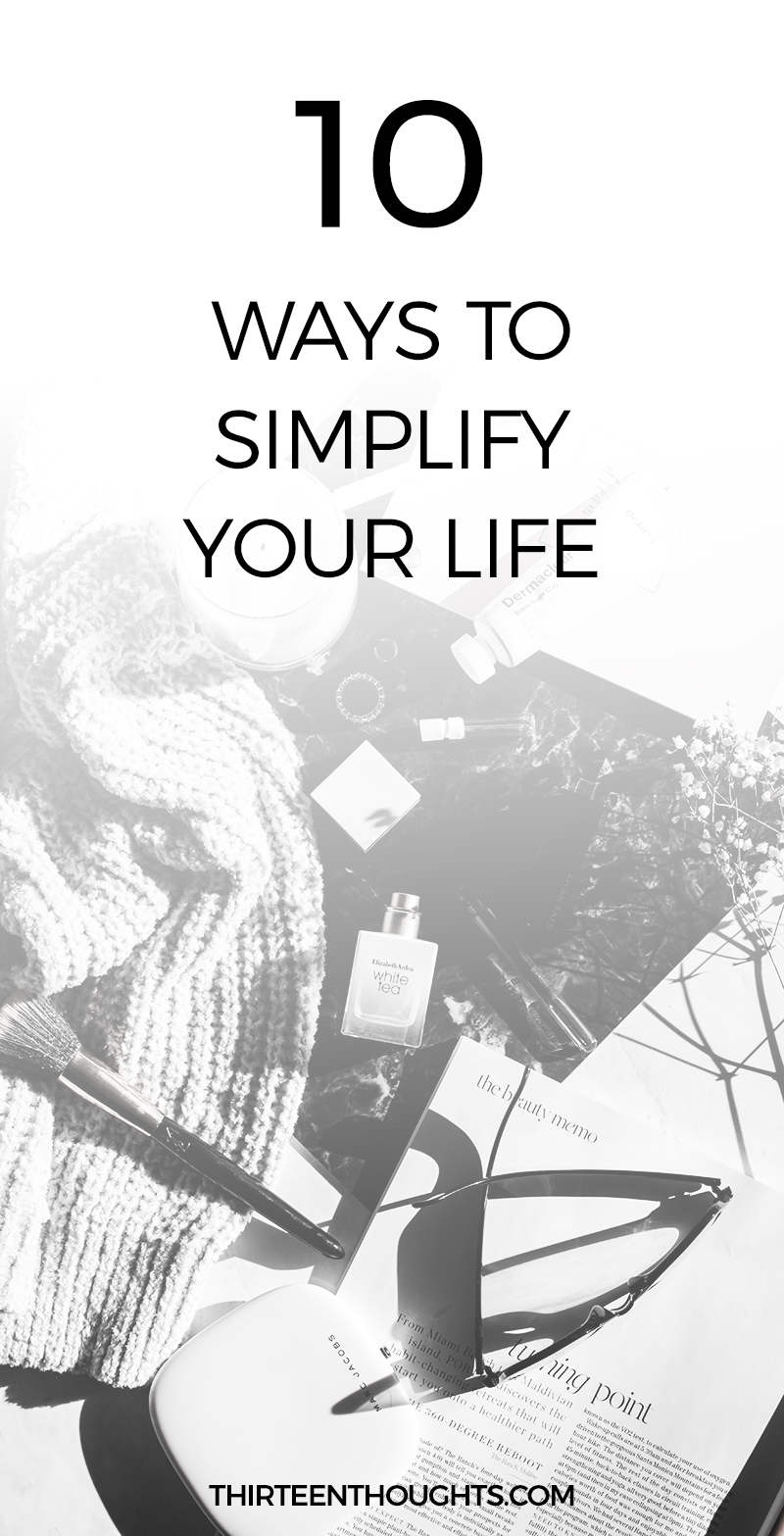Simple Living: Ways to Simplify Your Life