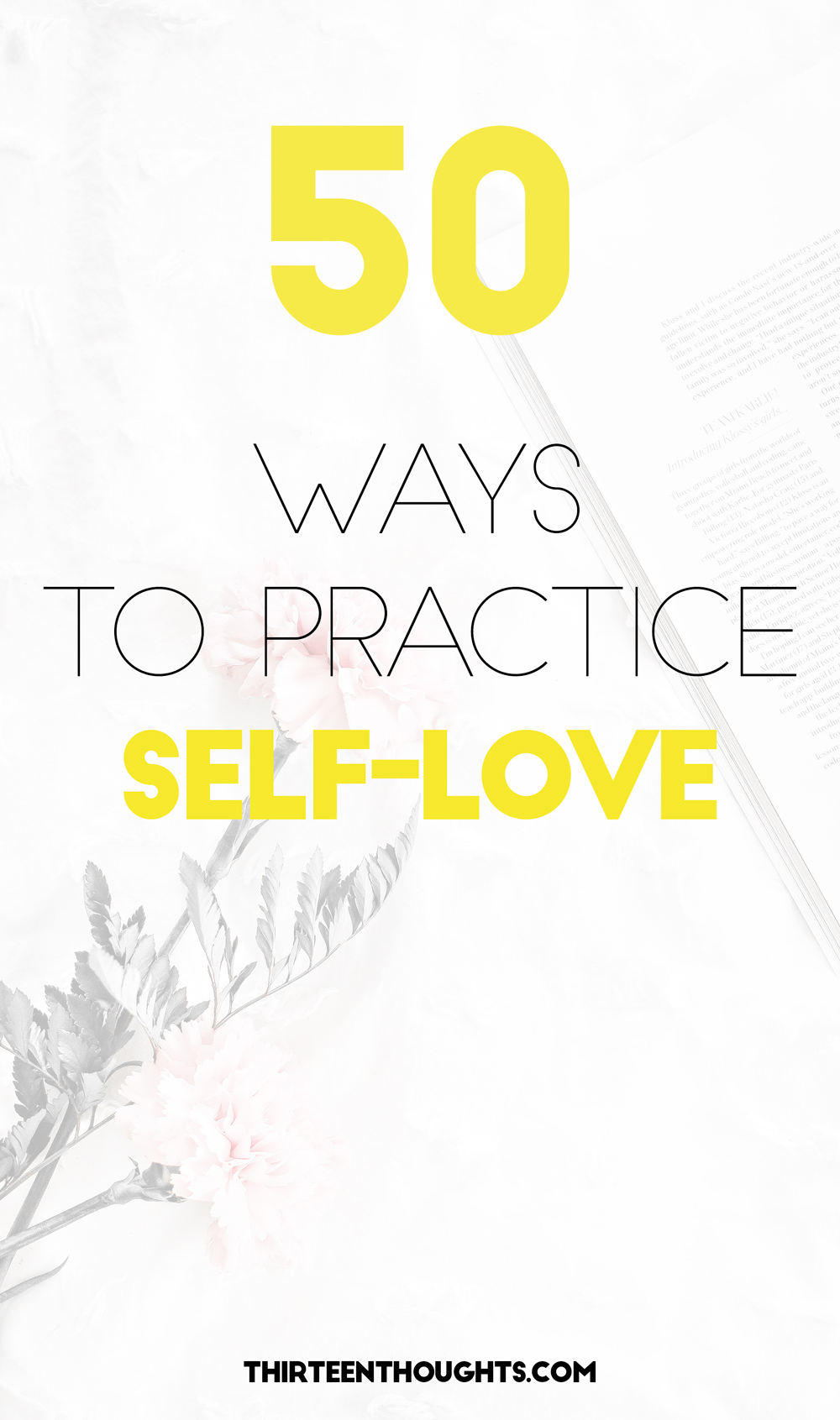 50 Ways to Practice Self-Love