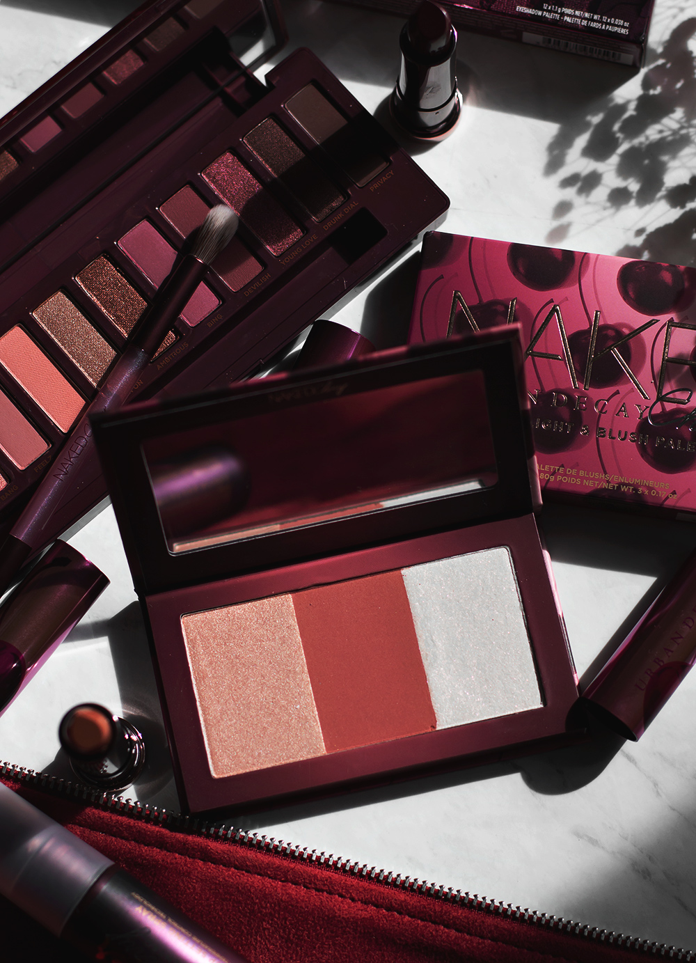 Urban Decay Naked Cherry Collection Review + Swatches
