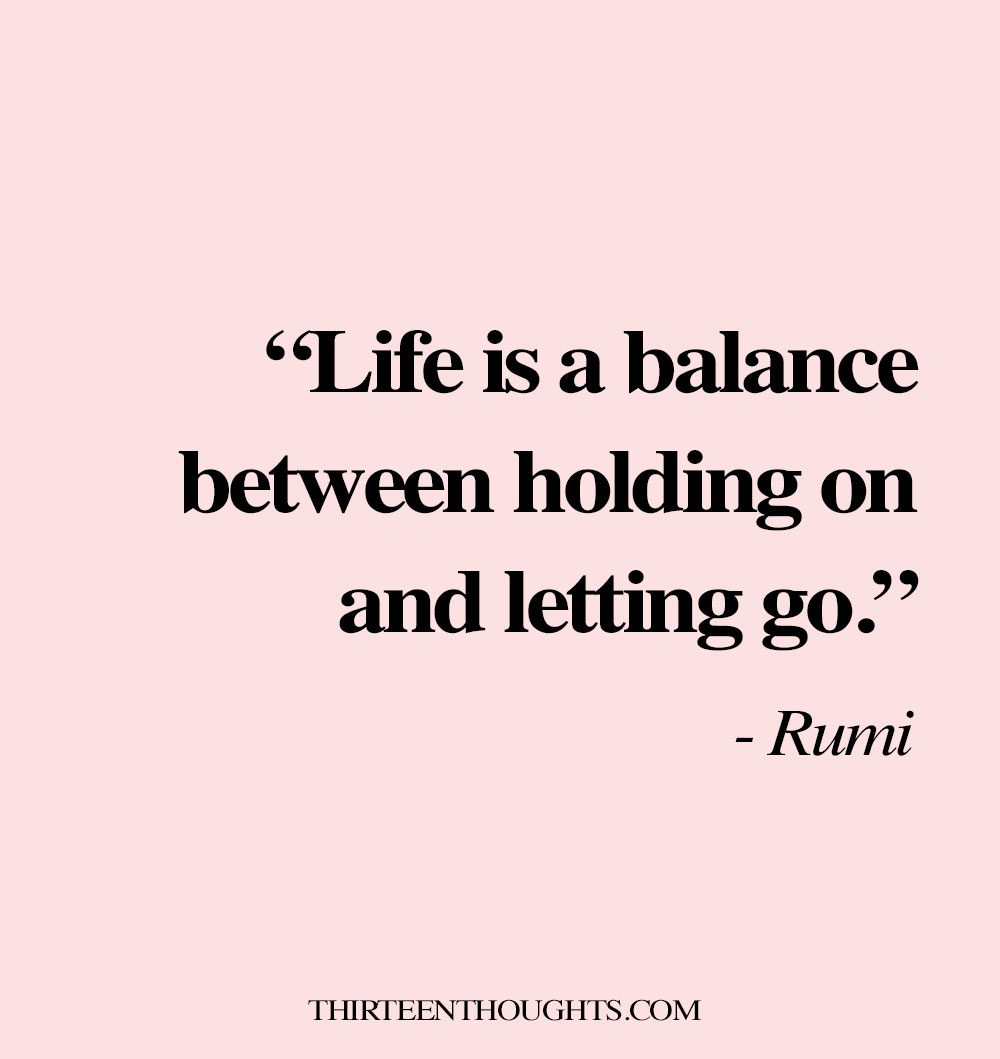 Finding Balance in Life Quote